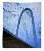 Margaret Hunt Hill Bridge Dawn Fleece Blanket