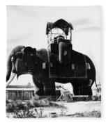 Margate Elephant, C1900 Fleece Blanket
