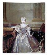 Mariana Victoria Of Spain (1718-1781) Fleece Blanket