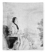 Marie De Vichy-chamrond (1679-1780) Fleece Blanket