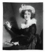 Marie Vigee-lebrun (1755-1842) Fleece Blanket