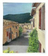 Marignac-en-diois Fleece Blanket