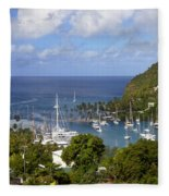 Marigot Bay Fleece Blanket