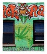 Marijuana 3 Fleece Blanket