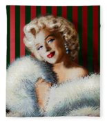 Marilyn 126 D 3 Fleece Blanket