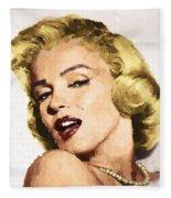 Marilyn Monroe 08 Fleece Blanket