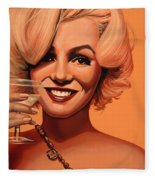 Marilyn Monroe 5 Fleece Blanket