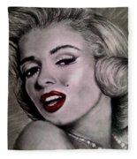Marilyn Monroe Fleece Blanket