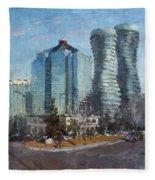 Marilyn Monroe Towers Fleece Blanket