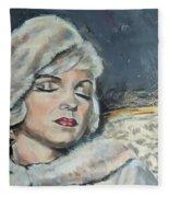Marilyn Monroe - Unfinished Fleece Blanket