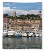 Marina Cannes Fleece Blanket