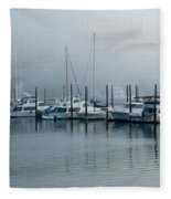 Marina Fog Fleece Blanket