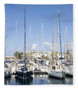 Marina Gran Canaria Fleece Blanket