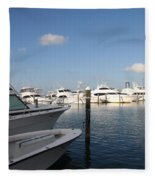 Marina Key West - Harbored Fun Fleece Blanket