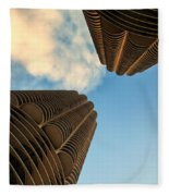 Marina Towers Fleece Blanket