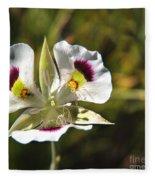Mariposa Lily Fleece Blanket