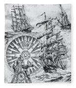 Maritime Heritage Fleece Blanket