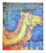 Mark 10 25 Fleece Blanket