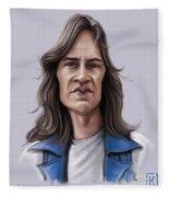 Mark Evans Fleece Blanket