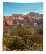 Markaqunt  Mesa In Kolob Fleece Blanket