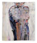Marlene Dietrich Fleece Blanket