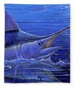 Marlin Mirror Off0022 Fleece Blanket