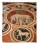 Marple Floor - Cathedral Siena Fleece Blanket