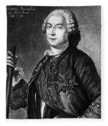Marquis De Vaudreuil (1698-1778) Fleece Blanket