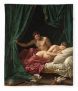 Mars And Venus. Allegory Of Peace  Fleece Blanket
