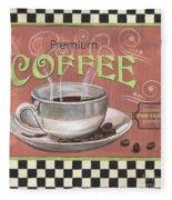 Marsala Coffee 2 Fleece Blanket