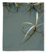 Marsh Reflections Fleece Blanket