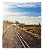 Marsh Road Fleece Blanket