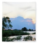 Marsh-set Fleece Blanket