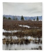 Marsh Tones Fleece Blanket