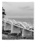 Marshall Point Lighthouse 2937 Fleece Blanket