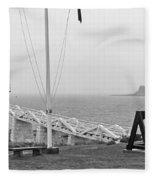 Marshall Point Lighthouse 2963 Fleece Blanket
