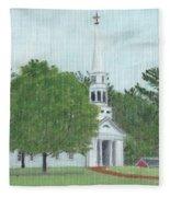 Martha Mary Chapel Fleece Blanket