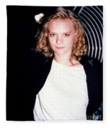 Martha Plimpton 1988 Fleece Blanket