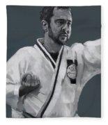 Martial Willie Fleece Blanket