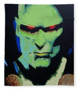 Martian Manhunter - A Close Encounter Fleece Blanket