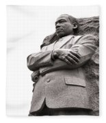Martin Luther King Memorial Statue Fleece Blanket