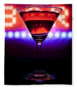Martini Bar Fleece Blanket