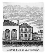 Martinsburg, West Virginia Fleece Blanket