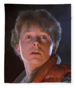 Marty Mcfly Fleece Blanket