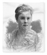 Mary Crowninshield Endicott Chamberlain Fleece Blanket