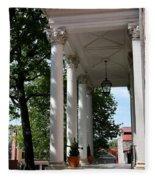 Maryland State House Columns Fleece Blanket