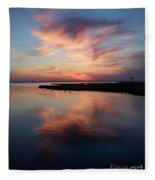 Maryland Sunset Fleece Blanket