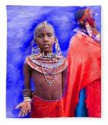 Masai Fleece Blanket