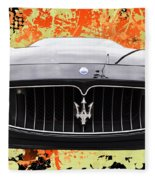 Maserati Granturismo I V Fleece Blanket