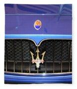 Maserati Fleece Blanket